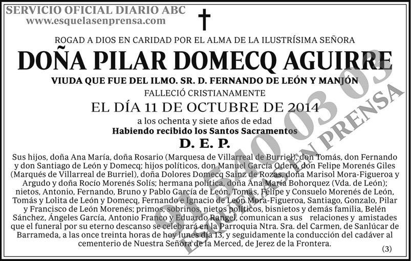 Pilar Domecq Aguirre
